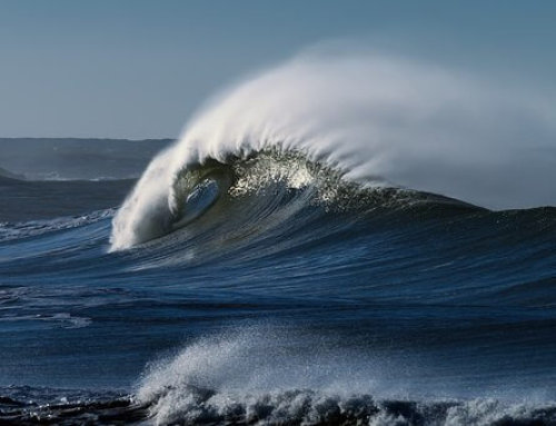 La energía de las olas!